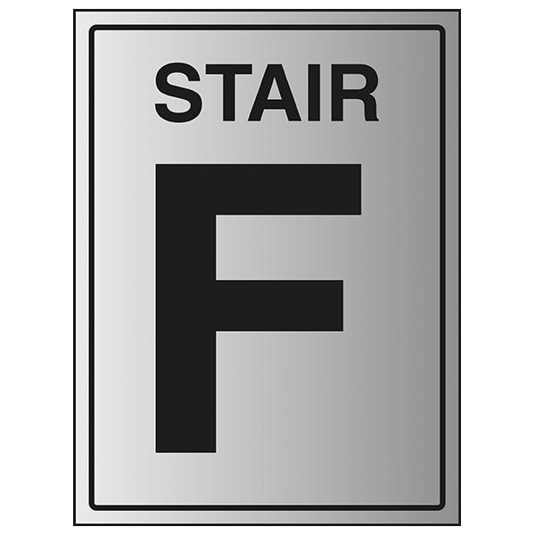 Stair F - Aluminium Effect