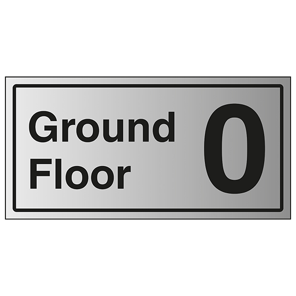 Ground Floor 0 - Aluminium Effect