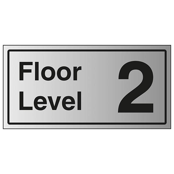 Floor Level 2 - Aluminium Effect