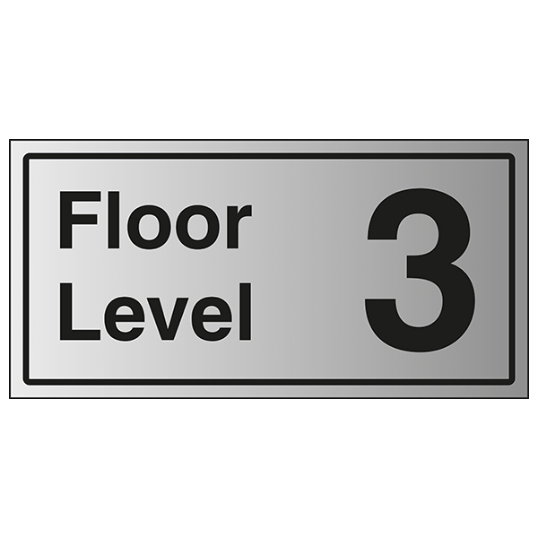 Floor Level 3 - Aluminium Effect