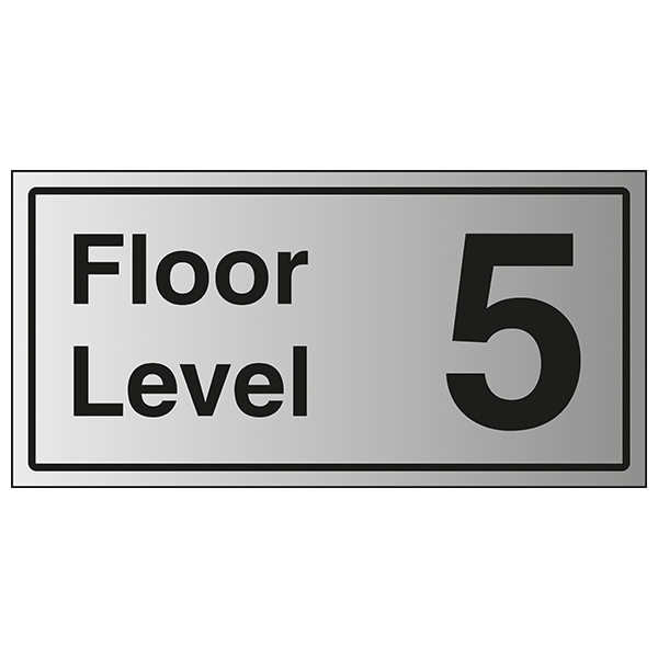 Floor Level 5 - Aluminium Effect