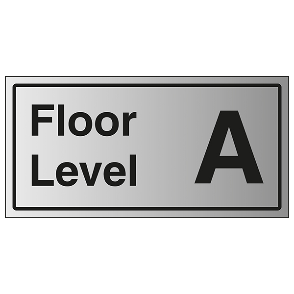 Floor Level A - Aluminium Effect