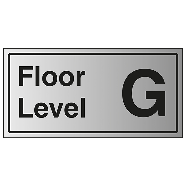 Floor Level G - Aluminium Effect