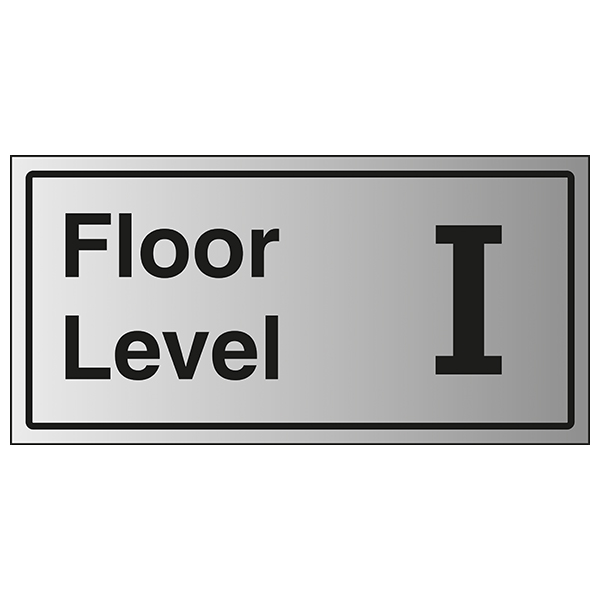 Floor Level I - Aluminium Effect