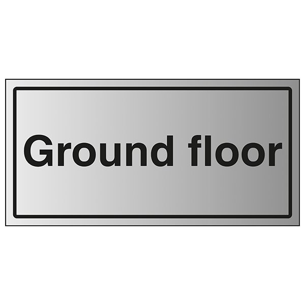 Ground Floor - Aluminium Effect