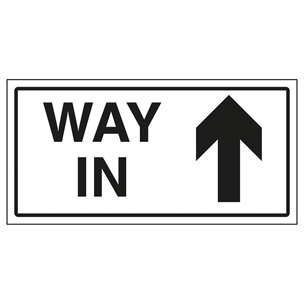 Way In Arrow Up