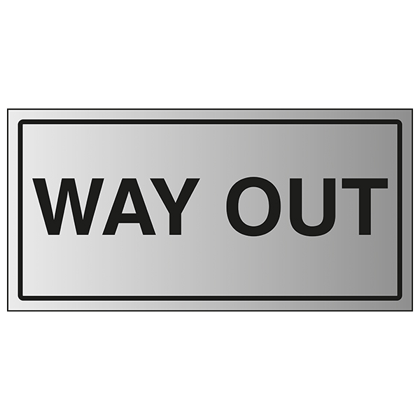 Way Out - Aluminium Effect
