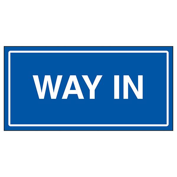 Way In Blue