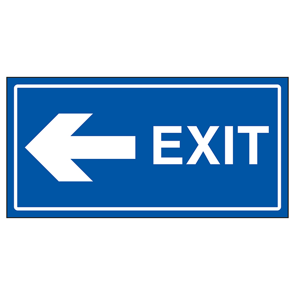 Exit Arrow Left