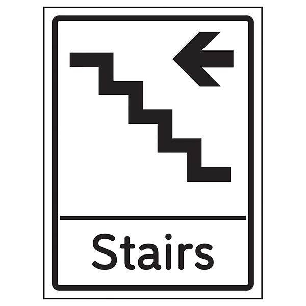Stairs Arrow Left