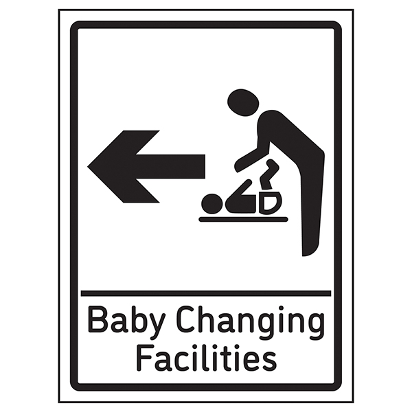 Baby Changing Facilities Arrow Left