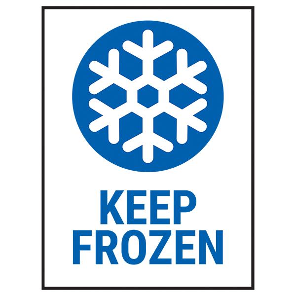 Keep Frozen Labels On A Roll - Portrait