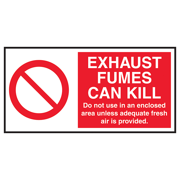 Exhaust Fumes Can Kill Labels On A Roll
