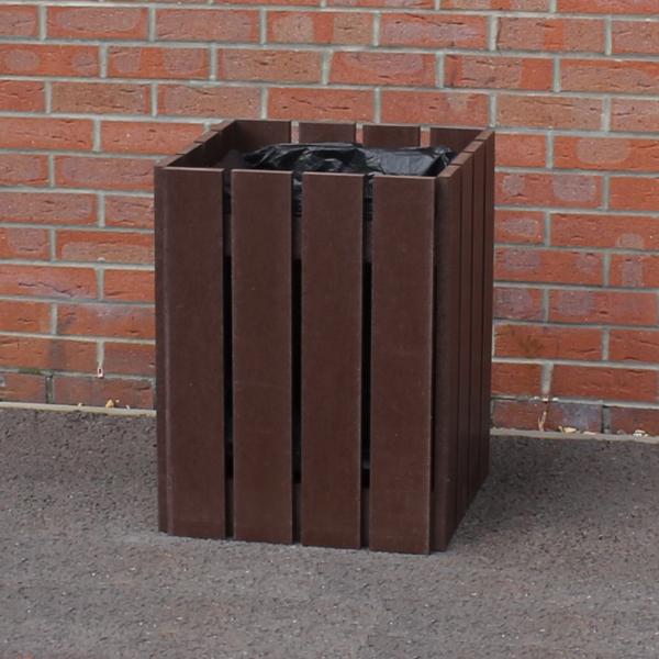 Recycled Plastic Litter Bin